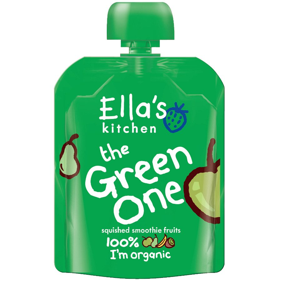 ellas kitchen the green one smoothie fruit 90g ellas kitchen - Ellas Kitchen