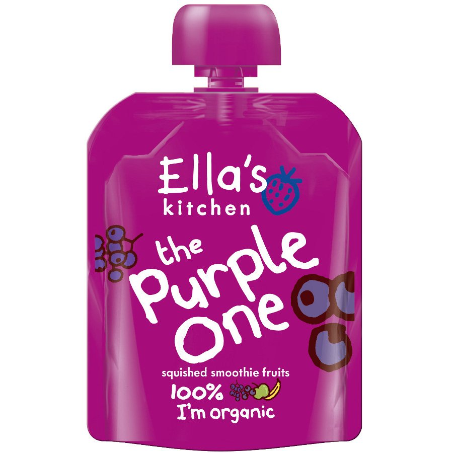 Ella S Kitchen The Purple One Smoothie Fruit 90g Ella