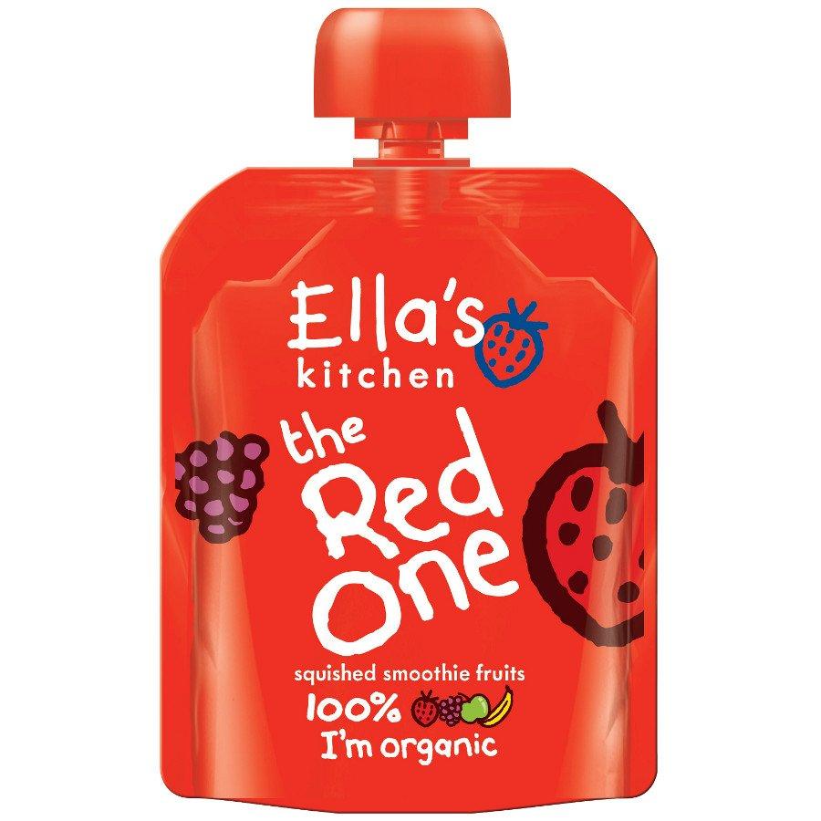 Ella S Kitchen The Red One Smoothie Fruit 90g Ella S