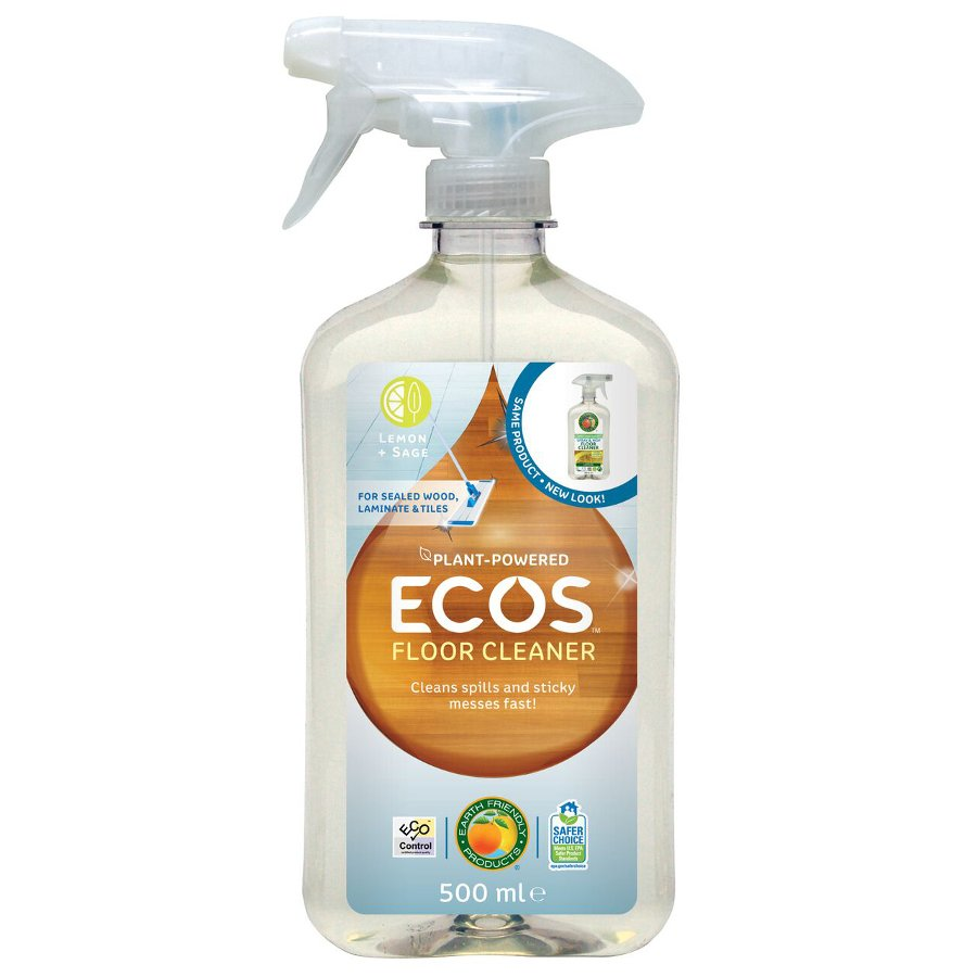ecos spray mop floor cleaner 500ml ecos earth friendly products