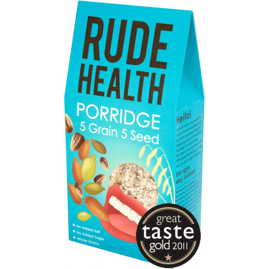 Rude Health 5 Grain 5 Seed Porridge Formerly Morning