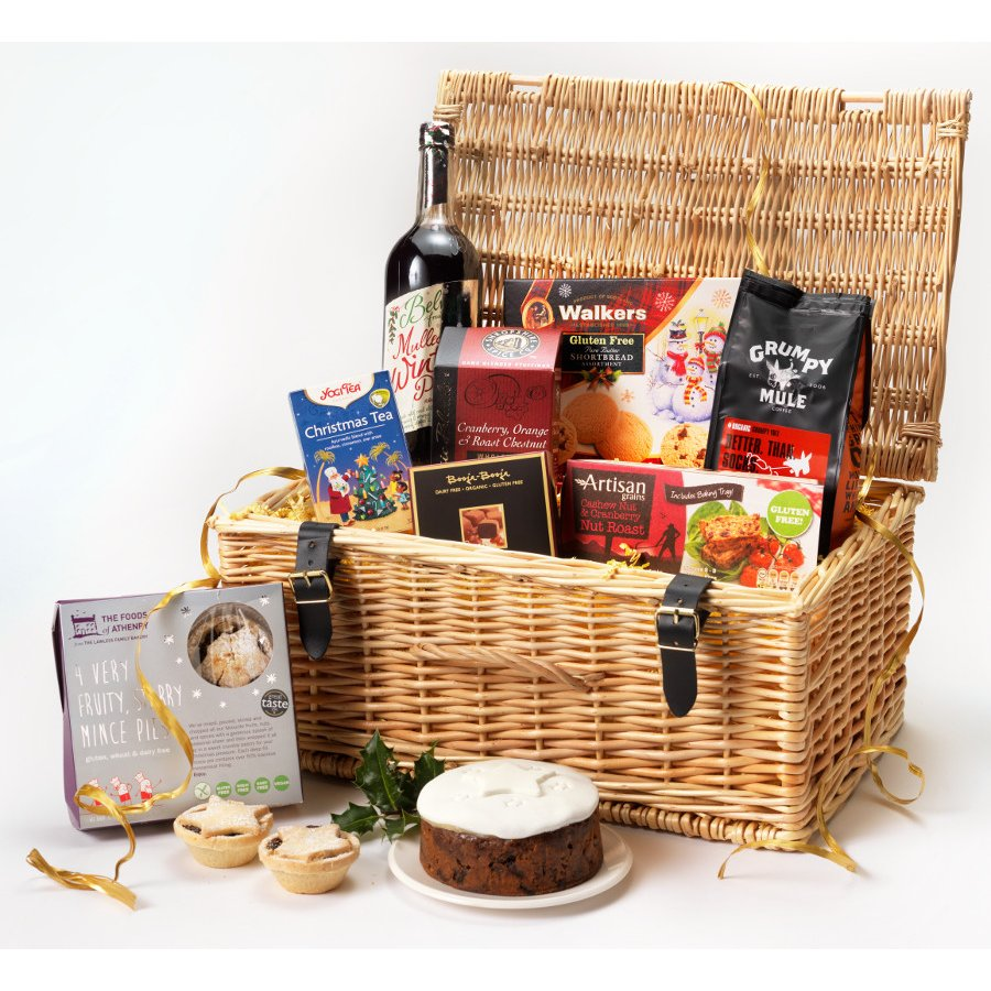 Gluten free gift baskets delivered uk luxury gluten free hamper gluten free gift baskets delivered uk gluten free christmas hamper natural collection select negle Images