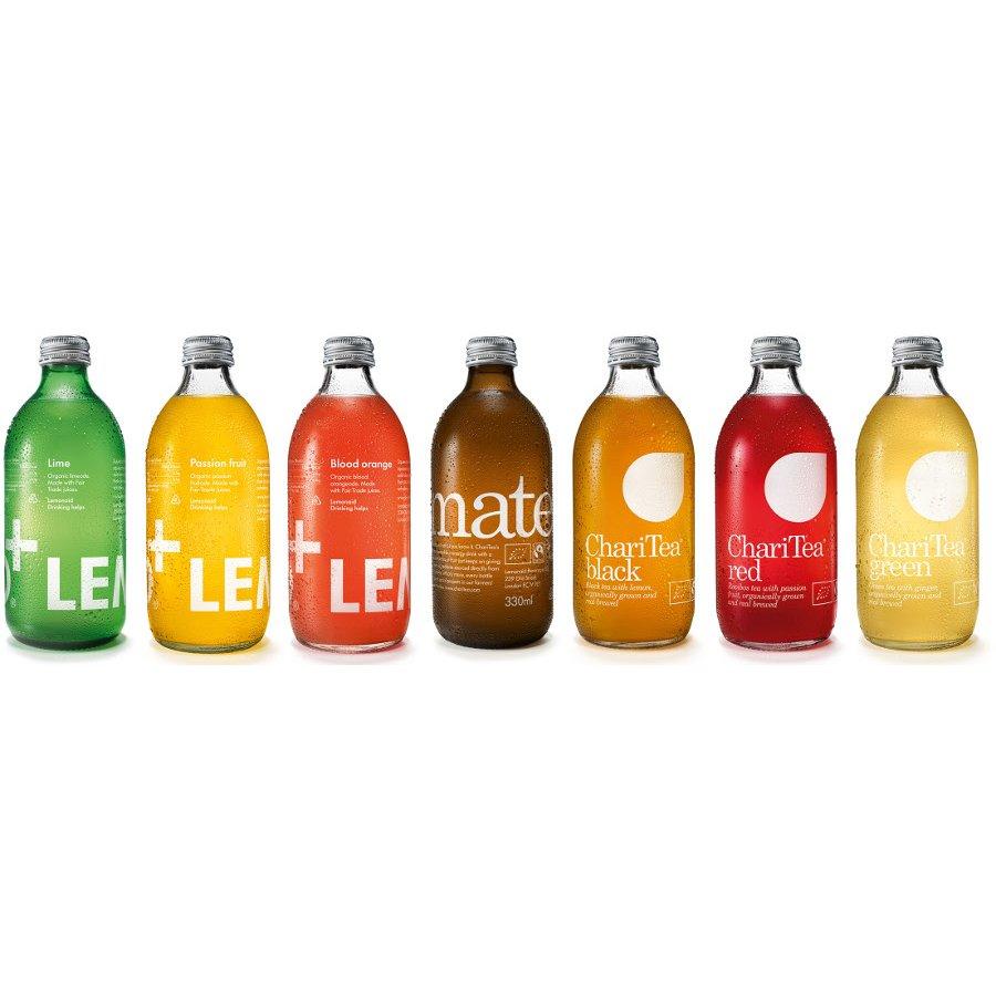 LemonAid - Organic & Fairtrade Blood Orange Drink - 330ml ...
