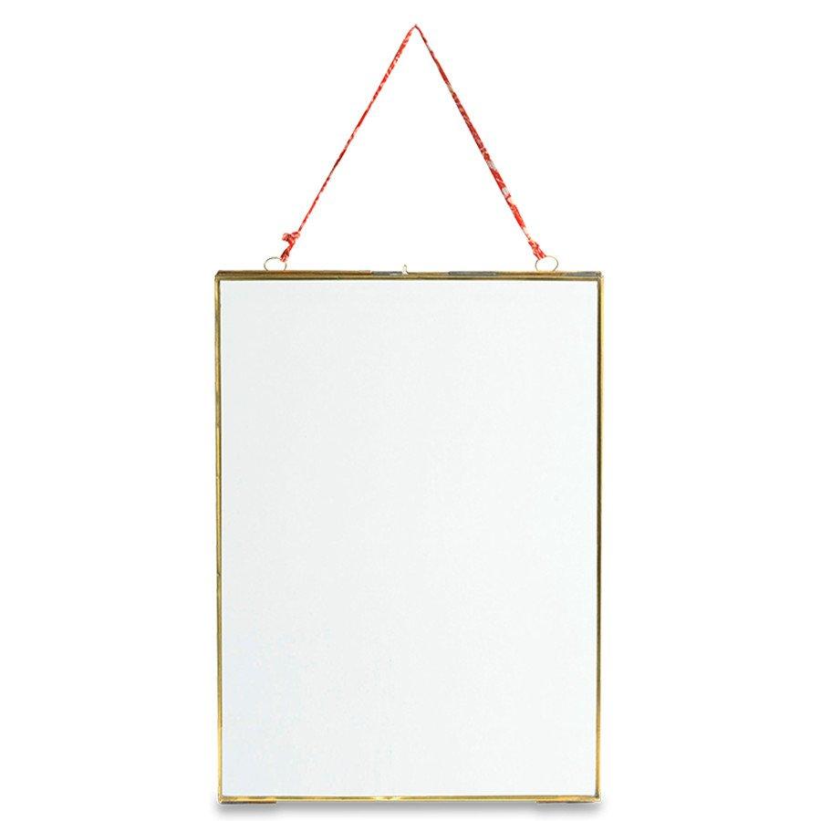 kiko glass brass frame 5x7 portrait nkuku