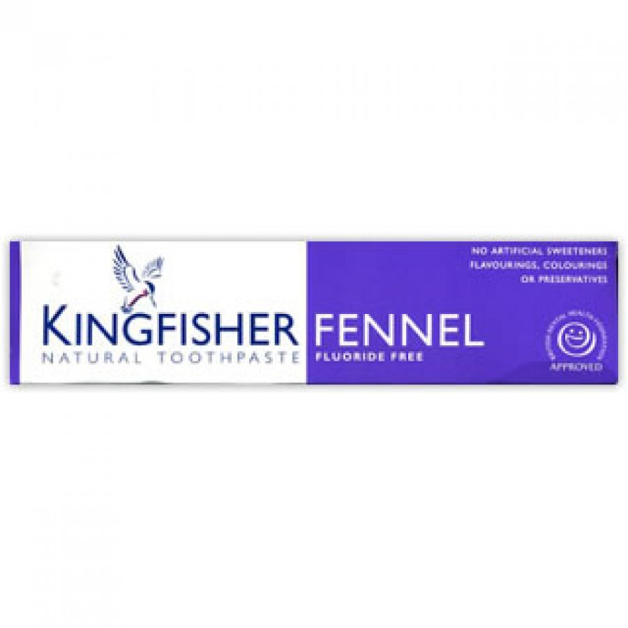 Kingfisher Fluoride Free Toothpaste - Fennel - 100ml
