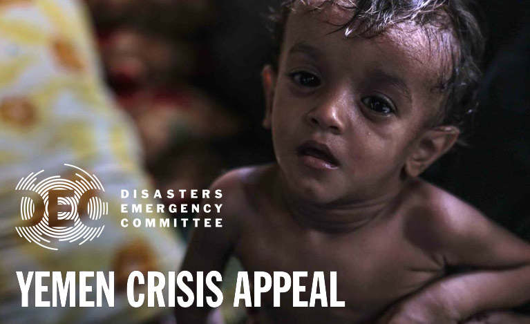 Yemen Appeal - donate to the Disasters Emergency Committee