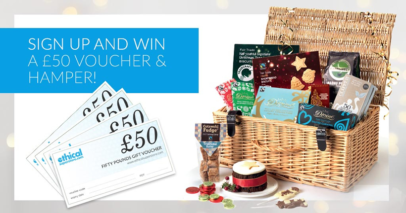 Win £50 of Ethical Superstore vouchers and a Hamper